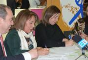 Firma convenio CocemfeCyL y FEJIDIF